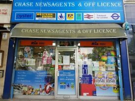 CHASE NEWSAGENTS & OFF LICENCE FOR SALE , REF: RB275