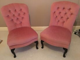 Vintage Pink Chairs