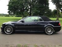 BMW M3 E46 2004 CONVERTIBLE +HARDTOP +SMG +CSL BODYKIT - EXHAUST +SUB +SATNAV