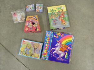 Various kids jigsaw puzzles:  Fundraiser- NEGC