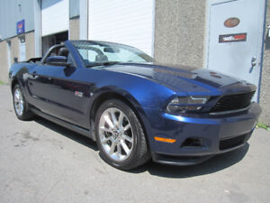 2011 Ford Mustang Cabriolet ***Auto, Cuir, Beau Look***