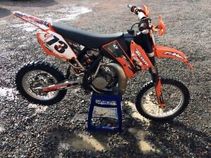 2009 ktm105 looking to trade !!