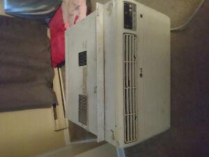 LG window AC unit
