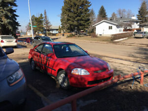 Honda Civic Si Coupe (2 door) 1997
