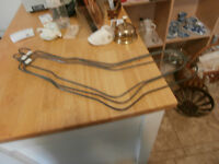 Antique Metal Sock Stretchers, Adult and Child, at KeepSakes