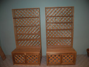 BC Fir Display cases