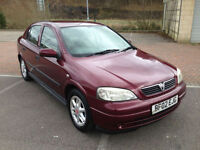 2002 Vauxhall Astra 1.6 Club 8v 5 Door Metallic Red