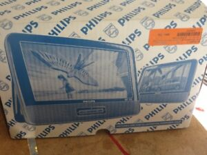 """9"""" Philips PD9012 Widescreen Portable DVD Player w/Additional LC"""
