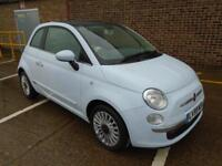 2009 (59) FIAT 500 1.2 PETROL LOUNGE GLASS ROOF AIR CON 40,000 MILES 1 OWNER
