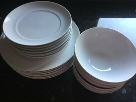Marks and Spencer Dinner plates, side plates and bowls