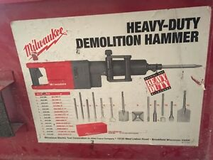 Milwaukee heavy duty demolition Hammer