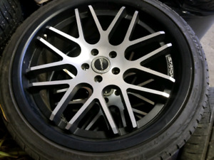 Strada rims and tires paid $2,000 selling for $1250