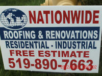 ALL YOUR ROOFING & RENOVATION NEEDS