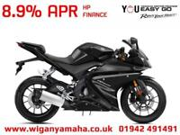 YAMAHA YZF-R125 ABS, 2018 MODEL FOR 18 REG, 0 MILES LOW RATE FINANCE AVAILABLE..