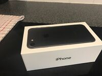 iPhone 7 128gb brand new not taken out of box on Tesco 02 no offers £550 thetford 07709838708