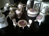 Authentic Limoges France minitures