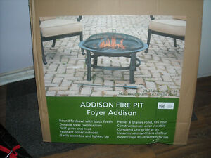 ADDISON FIREPIT==[NEW] NEVER OPENED