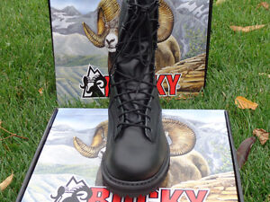 Men's Rocky Winter Leather Police Boots, Brand New!!!! REDUCED!! Kitchener / Waterloo Kitchener Area image 5