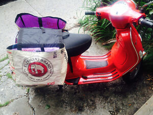 SCOOTER bags!!!!! RECYCLED and REMARKABLE!!!!!