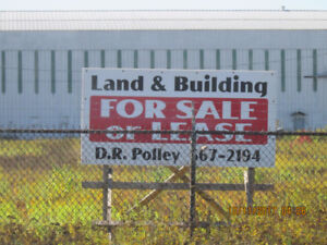 LARGE COMMERCIAL WAREHOUSE AND 35 ACRES  AMHERST NS