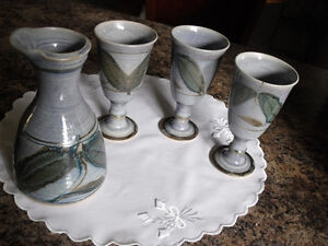 Robin Hopper Pottery, 4 Matching Pieces..Price Reduced !