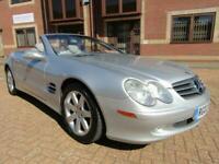 2002 Mercedes-Benz SL 500 V8 2 DR CONVERTIBLE AUTO 5.0 PETROL LEFT HAND DRIVE