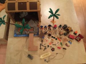 Playmobil - Coffret au trésor des pirates 4432A