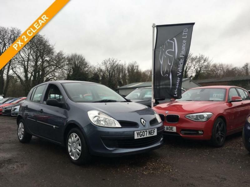 2007 07 renault clio 1 4 expression 16v 5dr in leicester. Black Bedroom Furniture Sets. Home Design Ideas