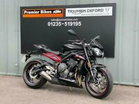 TRIUMPH STREET TRIPLE R LOW 765cc NAKED MOTORCYCLE
