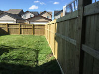 Solid fences!!Best Rates in town !! No nail guns! Free estimate!