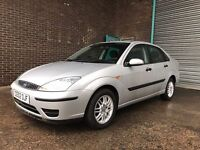 FORD FOCUS 1.6 SALOON IMMACULATE CAR LOVELY DRIVE MOT EXPIRED