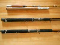 Cannes lourdes a 10$,35$,75$ Heavy fishing rods