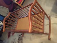 Excellent condition rocking baby cradle