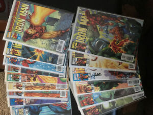 Iron man 98-99 comic series