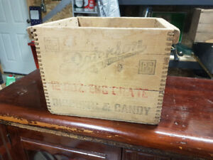 Rare Paterson biscuits and Candy Co egg crate.