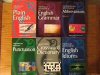 Set of six penguin English language guides
