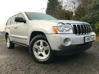 2007(07)GRAND JEEP CHEROKEE 3.0 CRD(215BHP)4X4 LIMITED EDITION AUTOMATIC