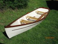 Steve Redmond 16 ft. Whisp rowboat