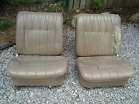 front bucket seats from a 1965 biuck riveira