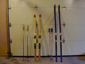 Ski alpin et Ski de fond