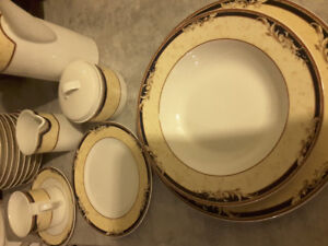 Dish set for 12 + people
