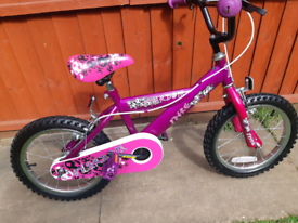 """16"""" girls bike"""