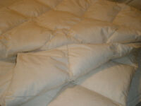 BRAND NEW HUTTERITE MADE GOOSE DOWN/FEATHER DUVET