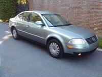 2005 Volkswagen Passat GLS Sedan-137.000KM-IMMPECABLE CONDITION!