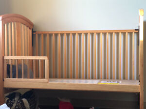 Crib for sell without mattress in 50$ , pickup only