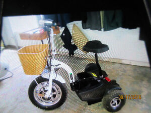 Wuxing  3-wheel scooter 48v battery & charger