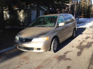 2002 Honda Odyssey minivan for sale
