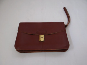 Leather Brown Pouch.