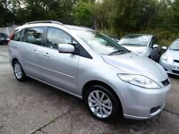 Mazda 5 2.0 TS2 7 SEATER (1 OWNER + LOW RATE FINANCE AVAILABLE) (aluminium/silver) 2007