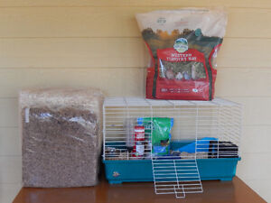 COMPLETE Small Mammal Cage and Accessories